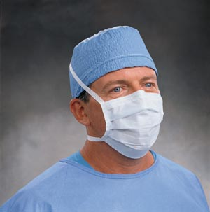 Male Physician with mask