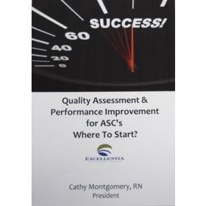 Quality Assessment and Performance Improvement - Where To Start?