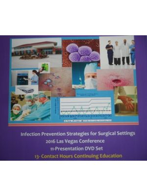 Series #4- 2016 Infection Prevention Strategies for Ambulatory Surgery Centers_SINGLE TRACK DVD Options